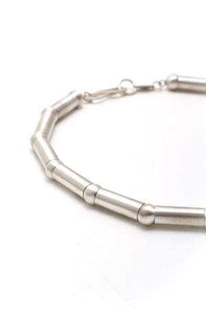 Cylinder/Bead Necklace
