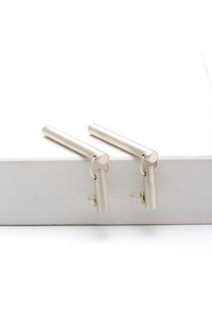 Tubular Drop Earring