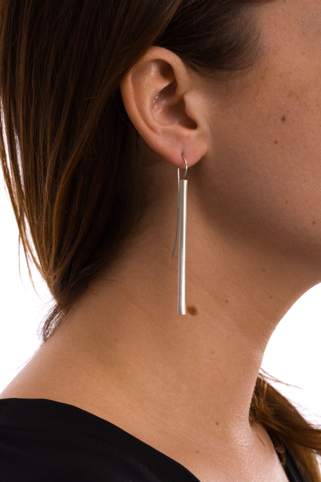 Long Thin Tube Earring