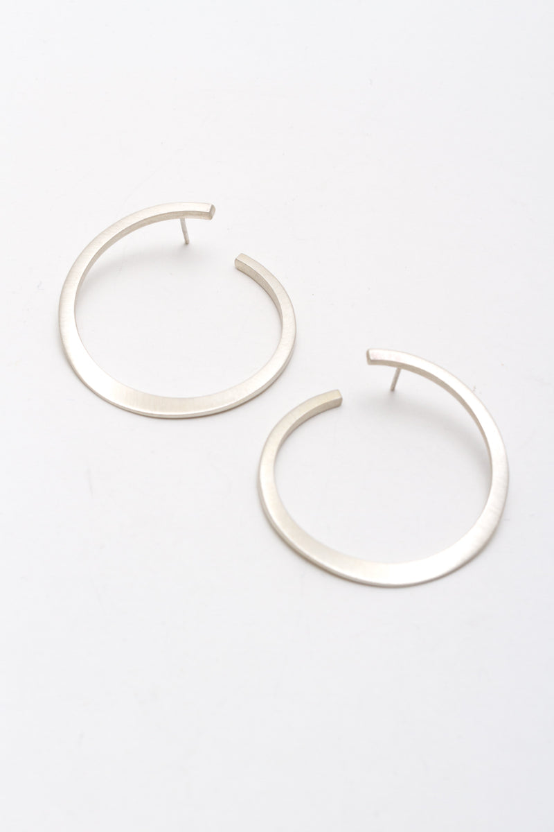 Large Forged Earring