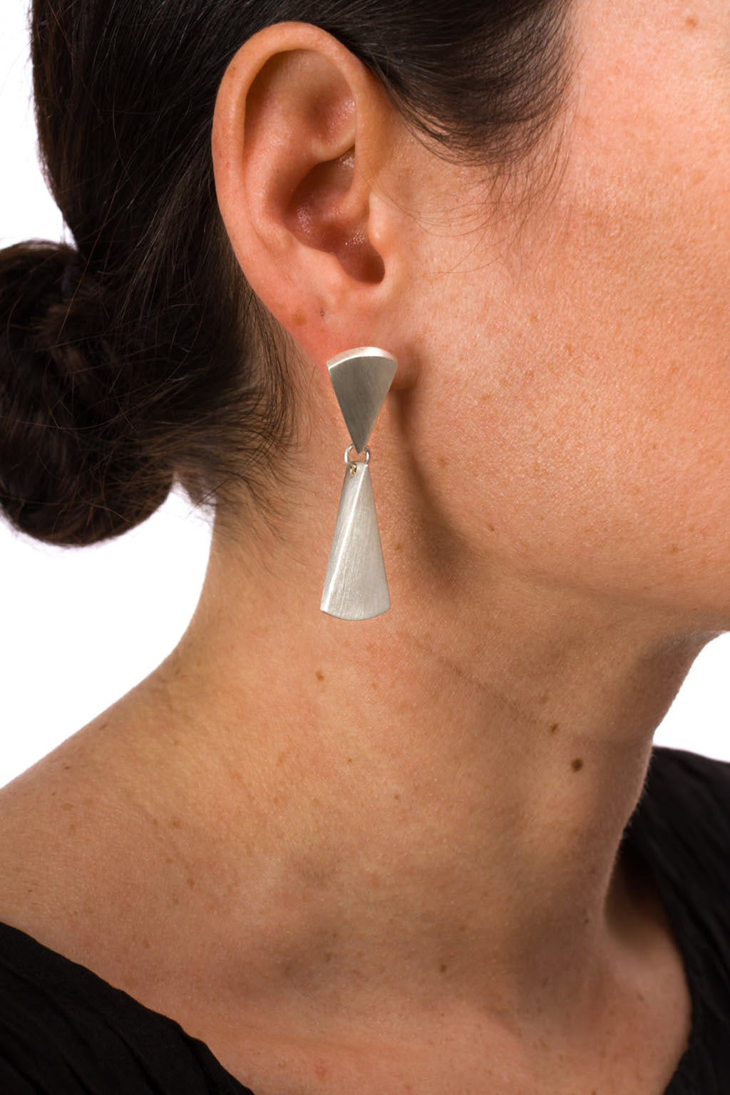 Short Taper Drop Earring