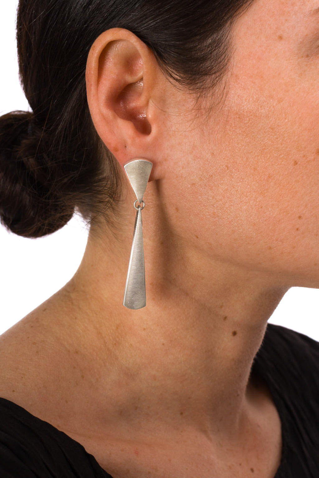 Long Taper Drop Earring