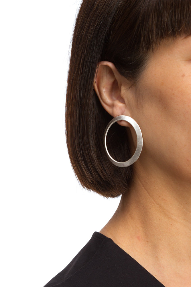 Large Circle Earring