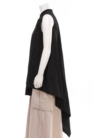 Sleeveless Asymmetrical Tunic