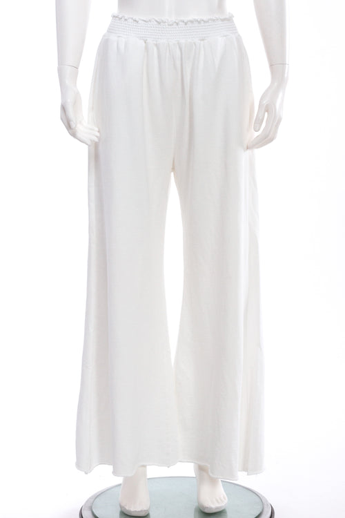 French Terry Bell Palazzo Pant