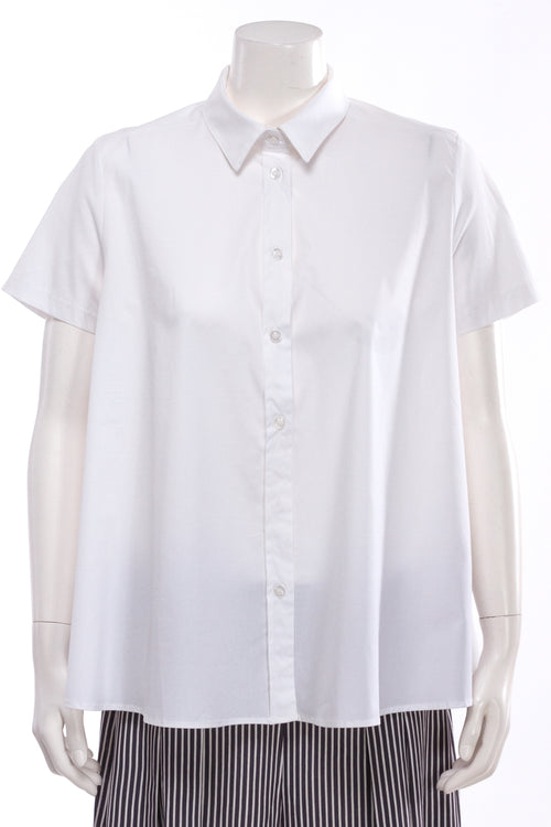 Short Sleeve Swing Blouse