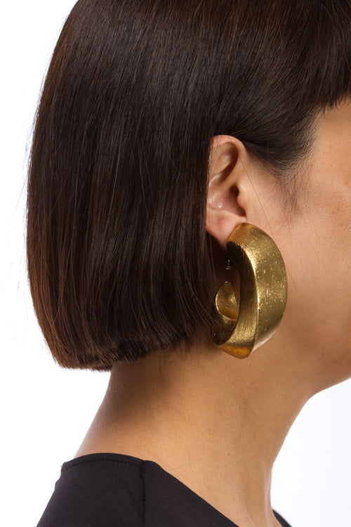 Rebecca Acacia Goldfoil Earrings