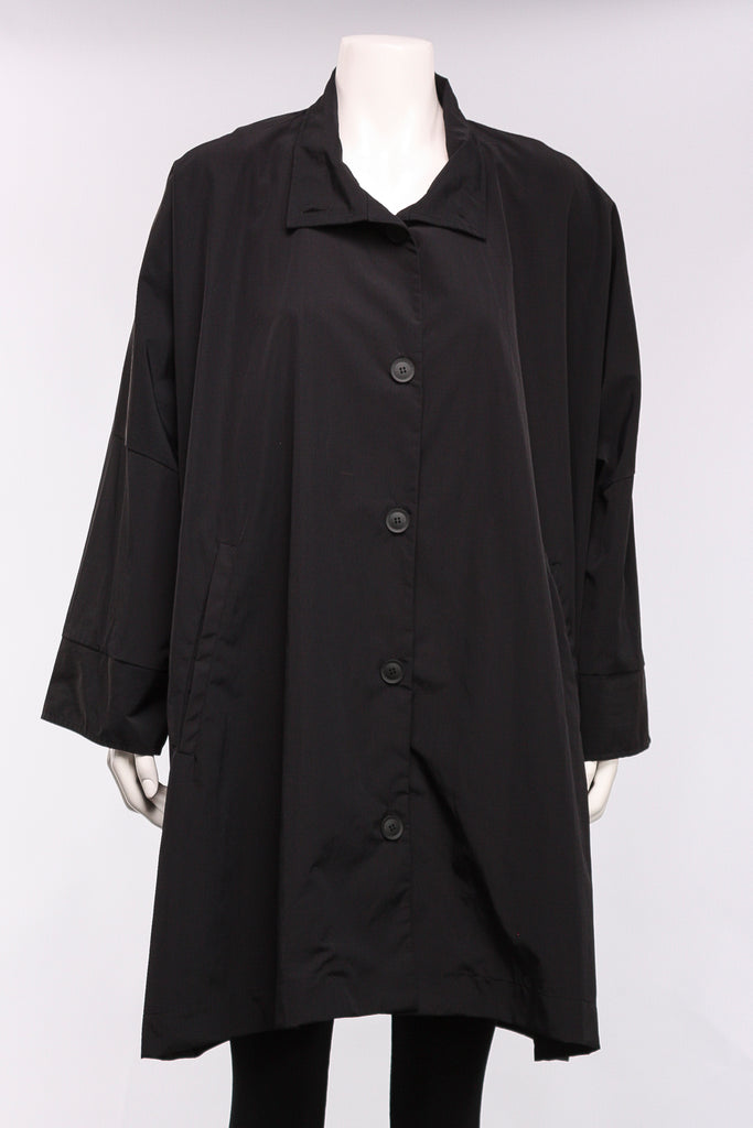 Metro Coat in Black