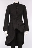 Asymmetrical Tails Jacket in Black