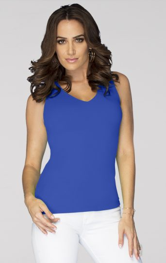V-Neck Sleeveless Top*