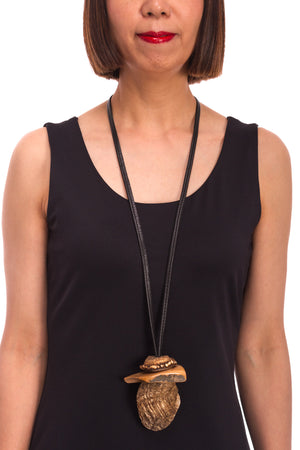 Mammoth 30,000 BC Necklace 6023485246 - BROWN