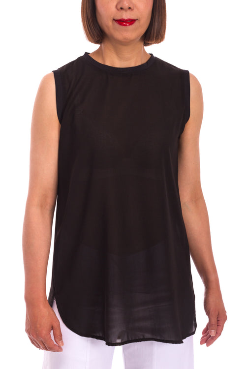 Banded Trim Tank Top