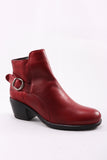 Glasgow Bootie in Red
