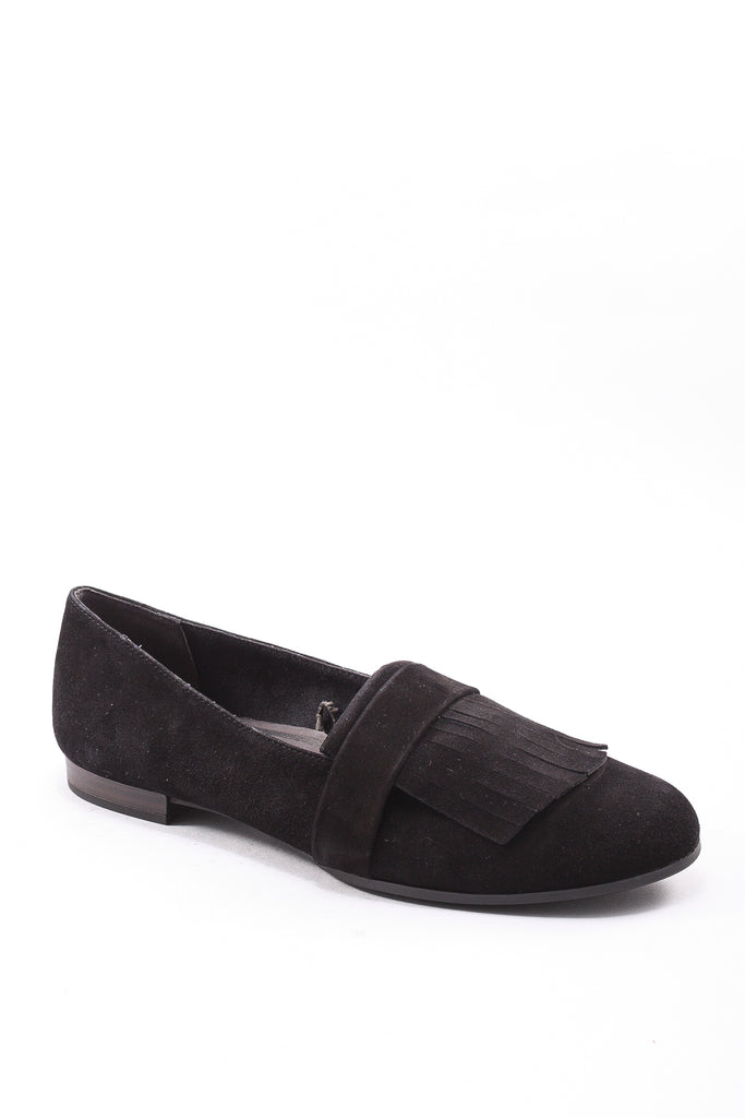 Alena-7 Flap Shoe in Black