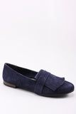 Alena-7 Flap Shoe in Navy