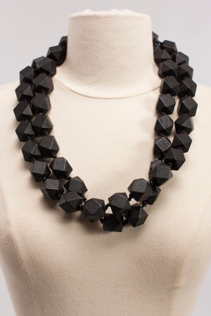 Polyhedral Bead Necklace