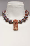 Red Clay and African Necklace*
