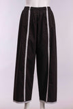 Full Pant W/Line with Black/White Small Dot