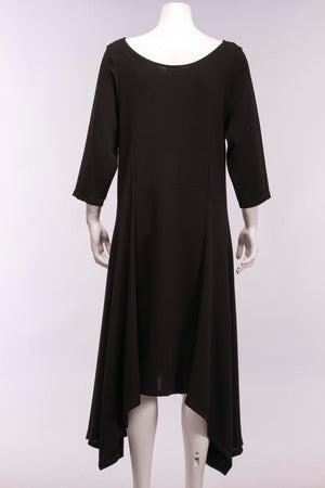 Slinky Balet Dress in Black