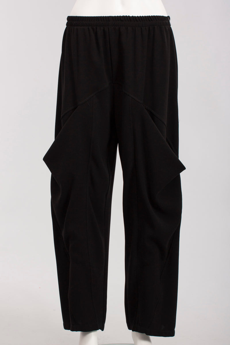 Pants W/ Pocket in Black