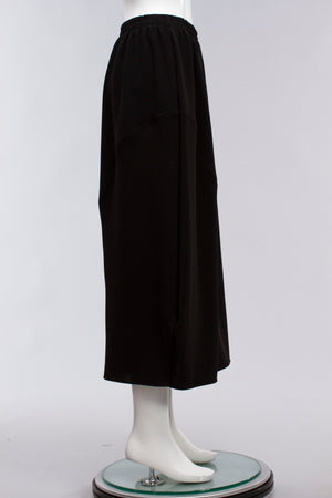 Swing Skirt in Black