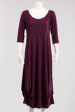Ampier Dress in Plum
