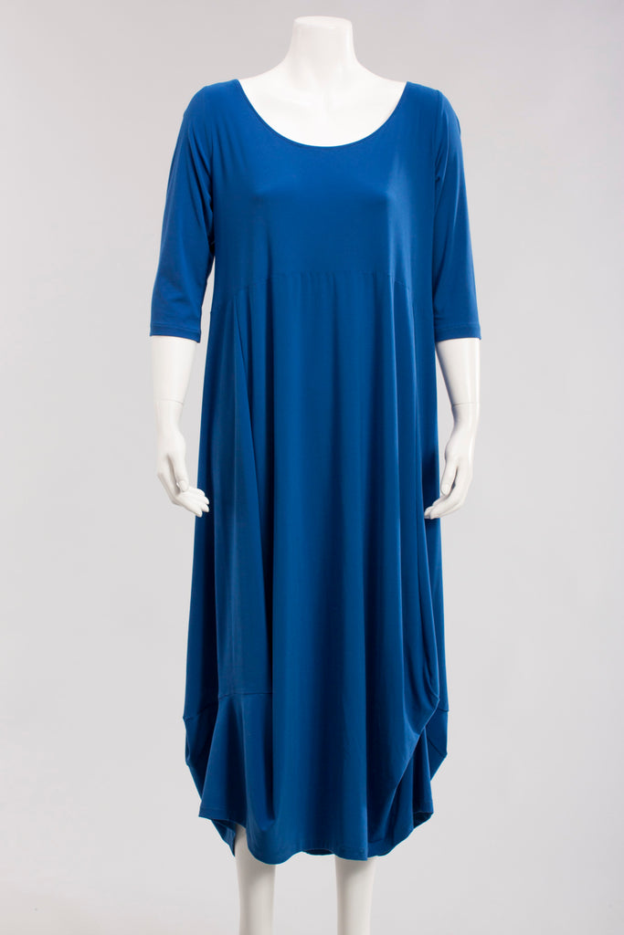 Ampier Dress in Royal Blue