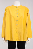 Swing Pocket Top in Yellow