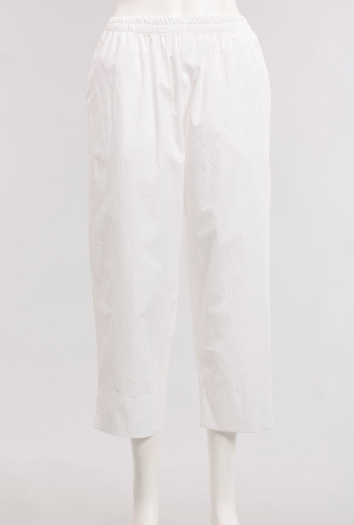 Short Pant in White