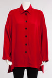 A Line Top in Red
