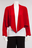 Short Jacket W/Point in Red