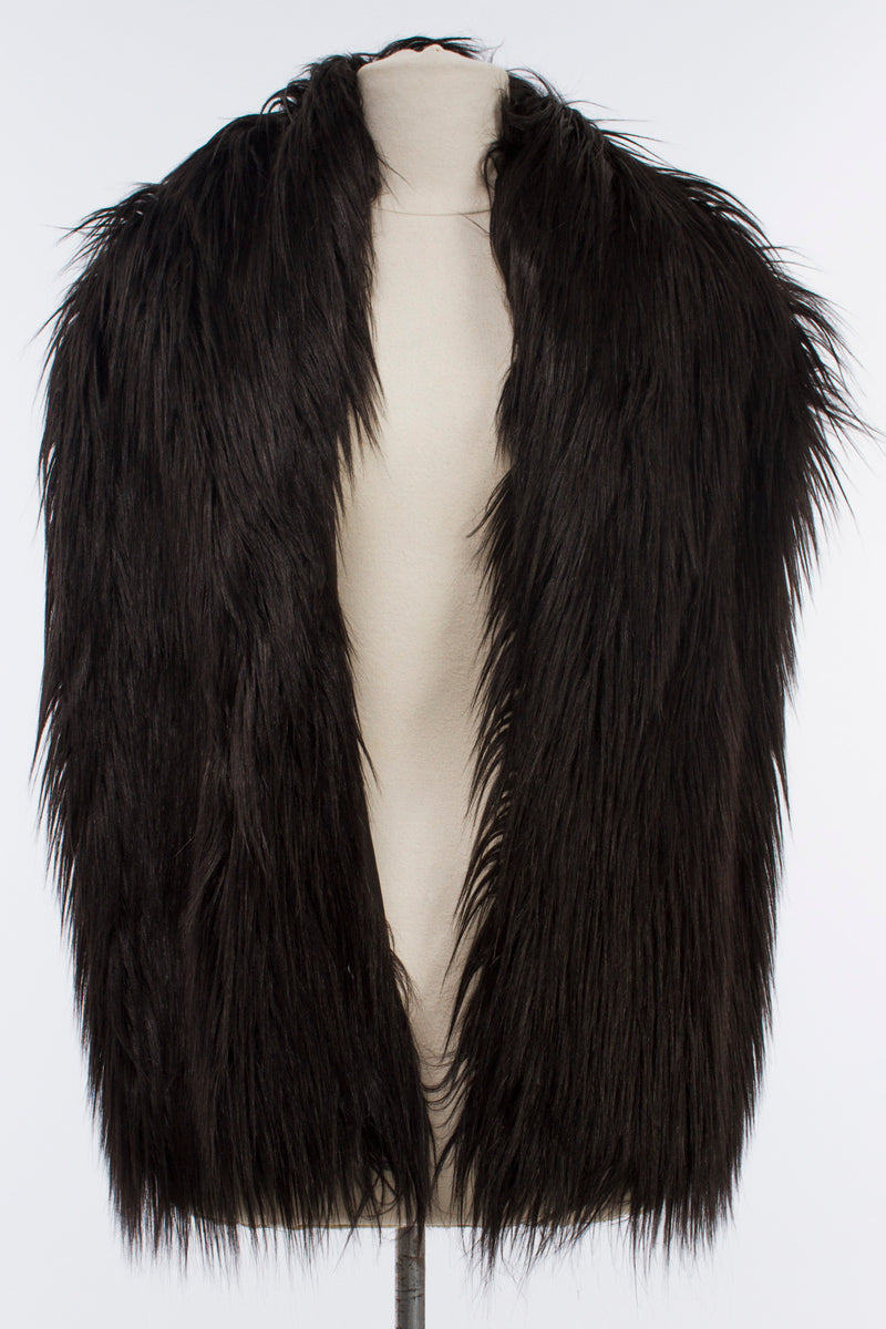 Large Fur Collar Sharon