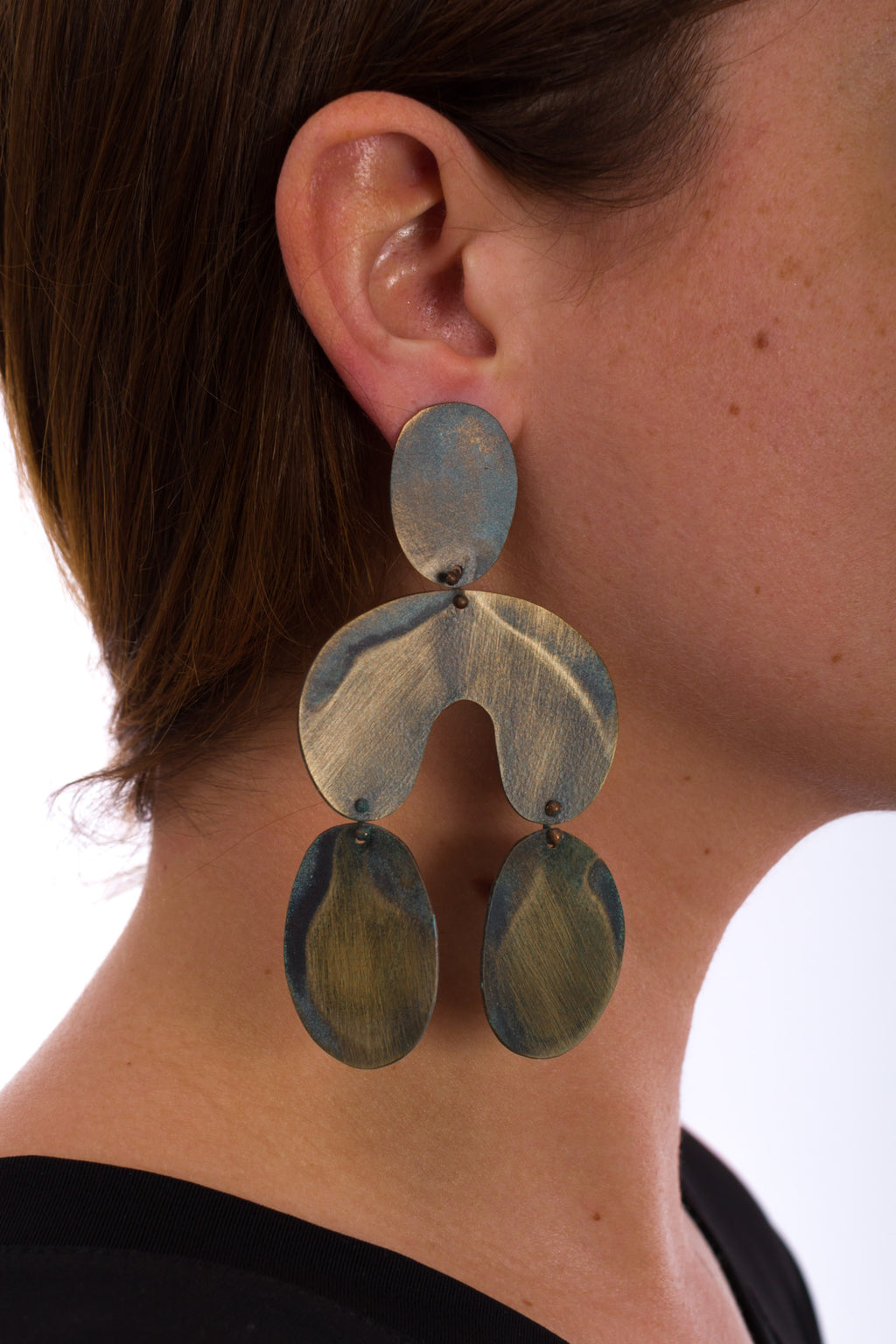 Aztec Drop Earring