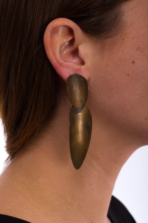 Narrow Drop Earring