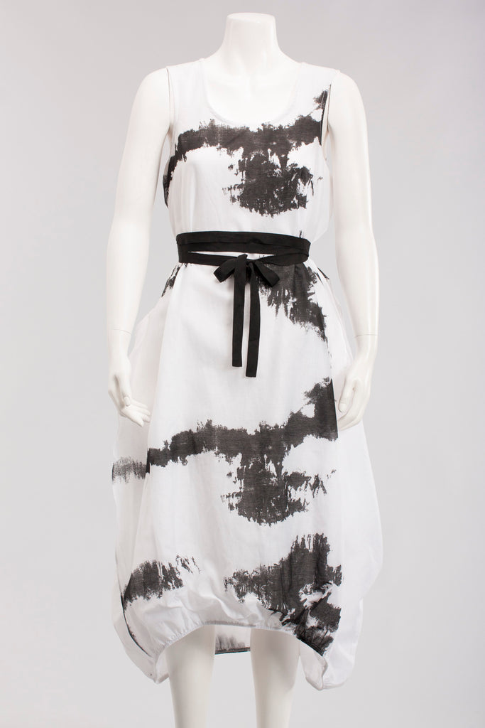Dress Titian in Black/White