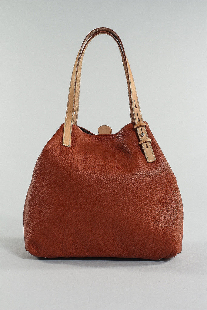 Leather Tote Bag in Adobi 6023484792 - ADOBI*