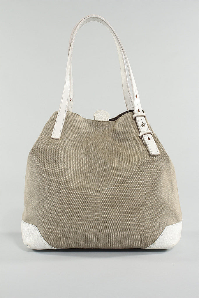 Tote Bag in White Sand 6023484776 - WHTSAND*