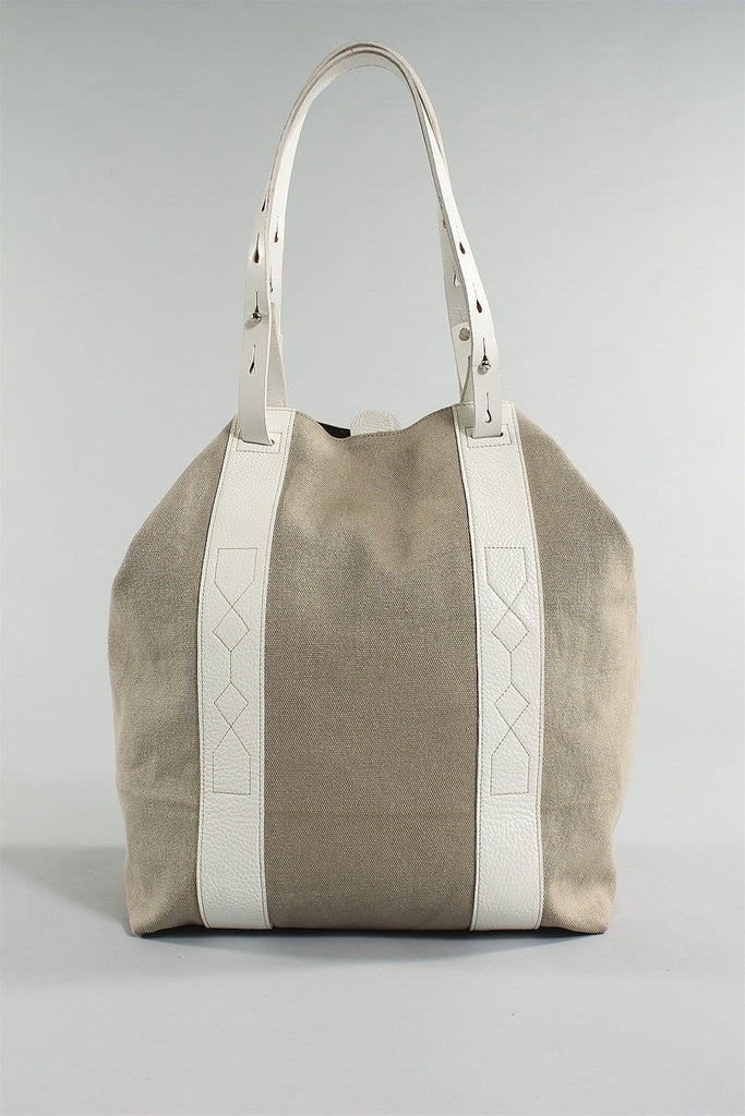 Day Bag in White Sand 6023484774 - WHTSAND*
