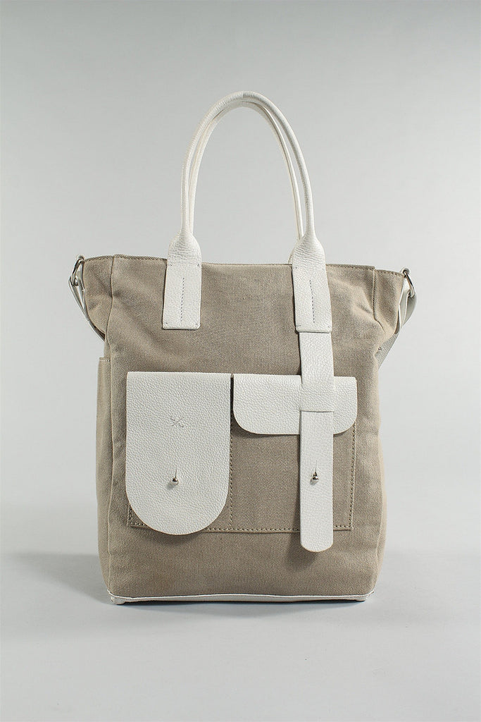 City Bag in White Sand 6023484782 - WHTSAND*