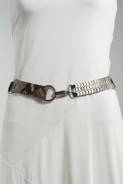 Multi Snake Stretch Belt