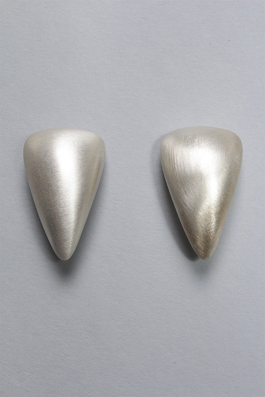 Claw Earrings in Sterling Silver C-GPE15 - STERLING
