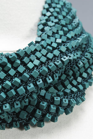 Non-Hand Painted 1 Sided Infinity in Teal C-JNL1406NP - TEAL