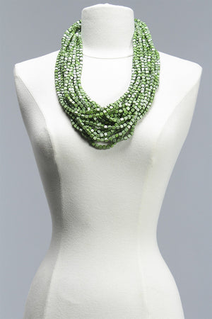 Hand Painted Pashmina in Green C-JNL1094HP - GREEN