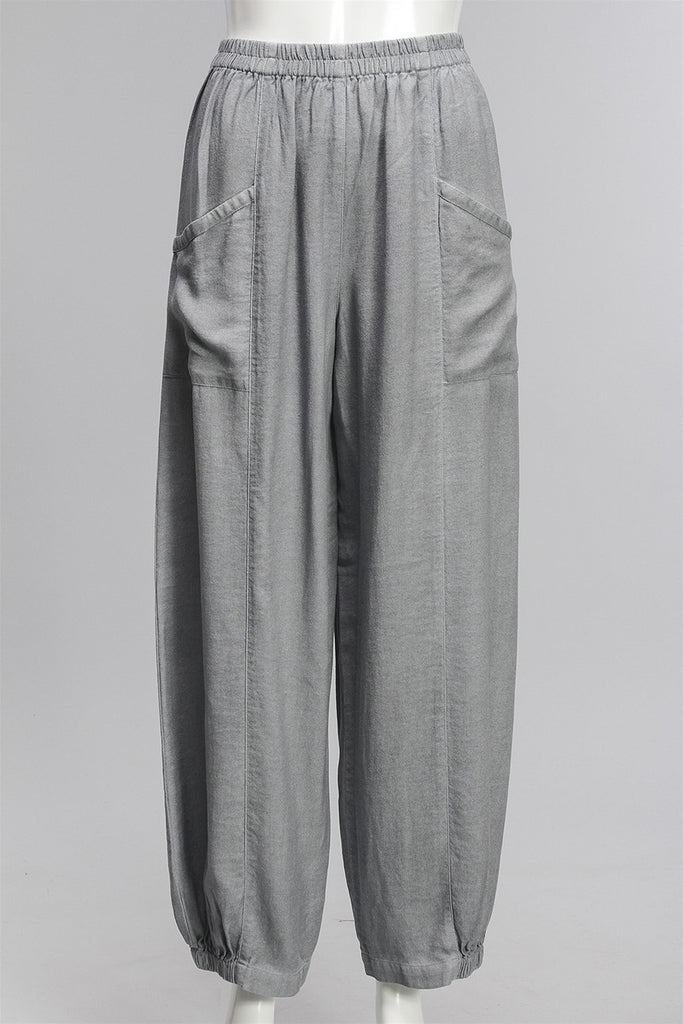 Pants Taiba in Steel C-C16D252316 - STEEL