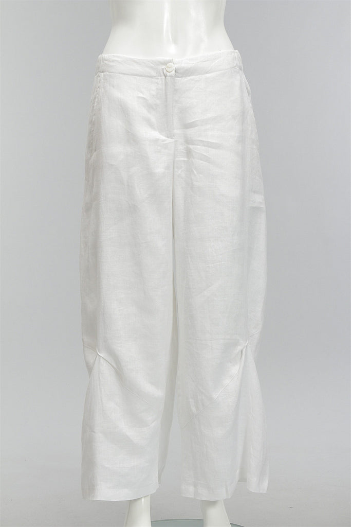 Beyond Basic Ankle Pants in Soft White 48226-1409 - SWHITE