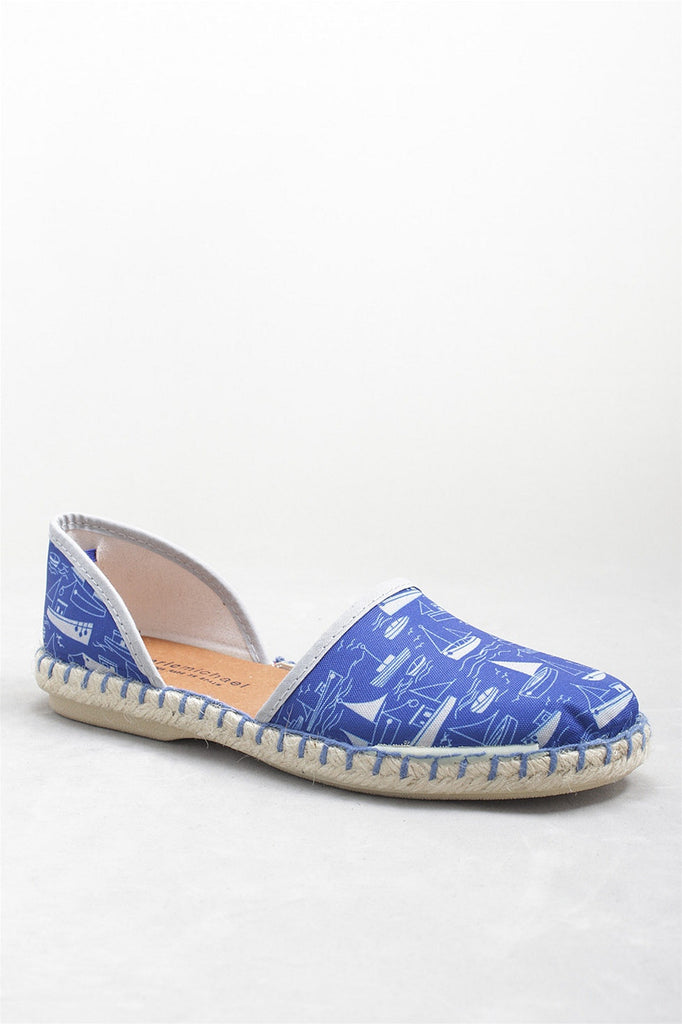 Francine Shoe in Blue Boats FRANCINE - BLBOATS