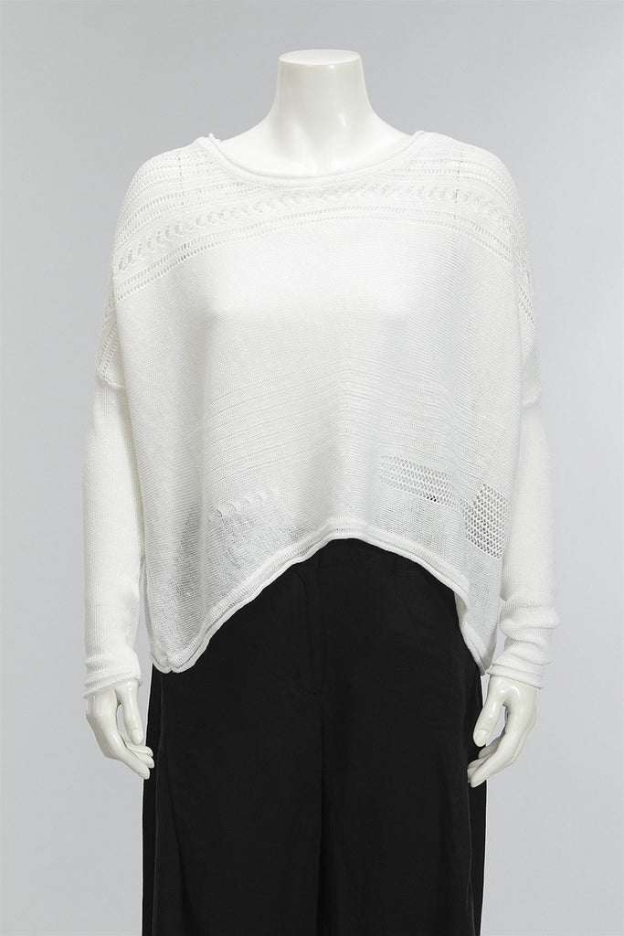 Luxe Life Sweater in Soft White 48426-403 - SWHITE