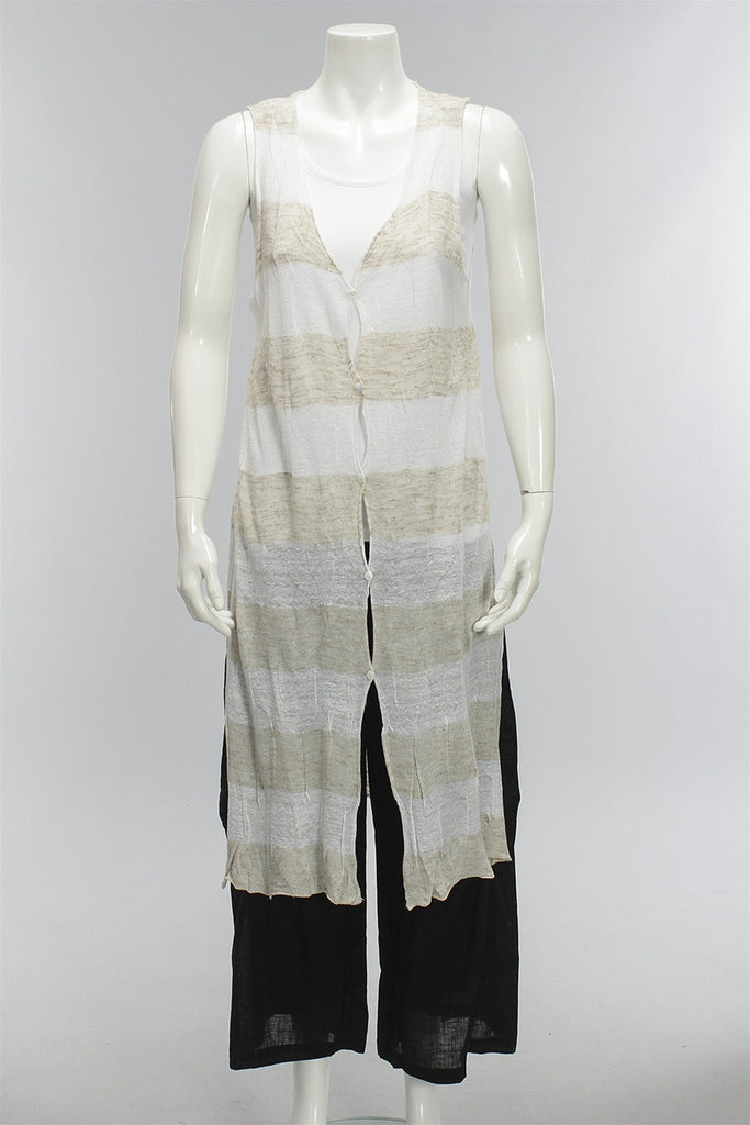 Strike A Balance Vest in Stripe 47724-651 - STRIPE