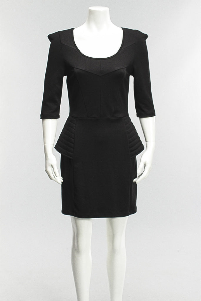 Edgy Dress in Black Stine Ladefoged Edgy Dress - BLACK