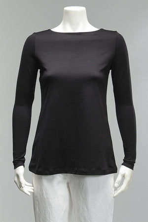 Boat Neck Long Sleeve